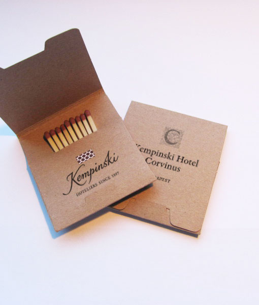 gastro marketing-match-box of matches-pickinfo-eco-kempinski-PM9